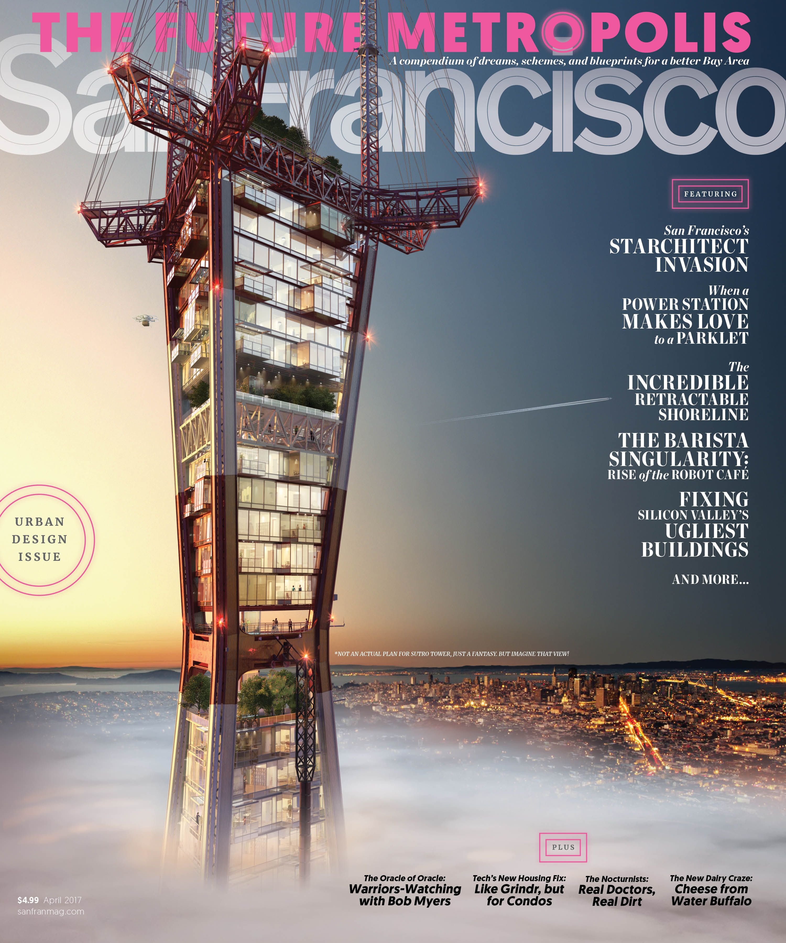 San Francisco Magazine Cover April 2017 Design Director: Clark ...