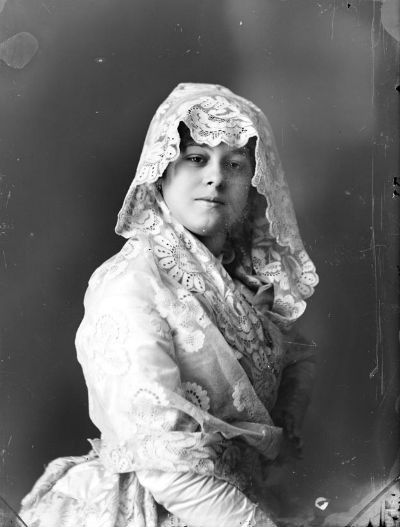 Juana Valencia, La Sordita (Foto de Antonio Esplugas, ANC)