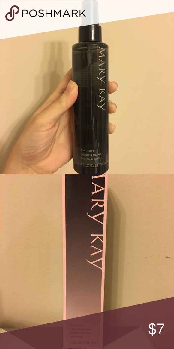 MaryKay Brush Cleaner. New. 6 fl oz. In box, new. Mary Kay