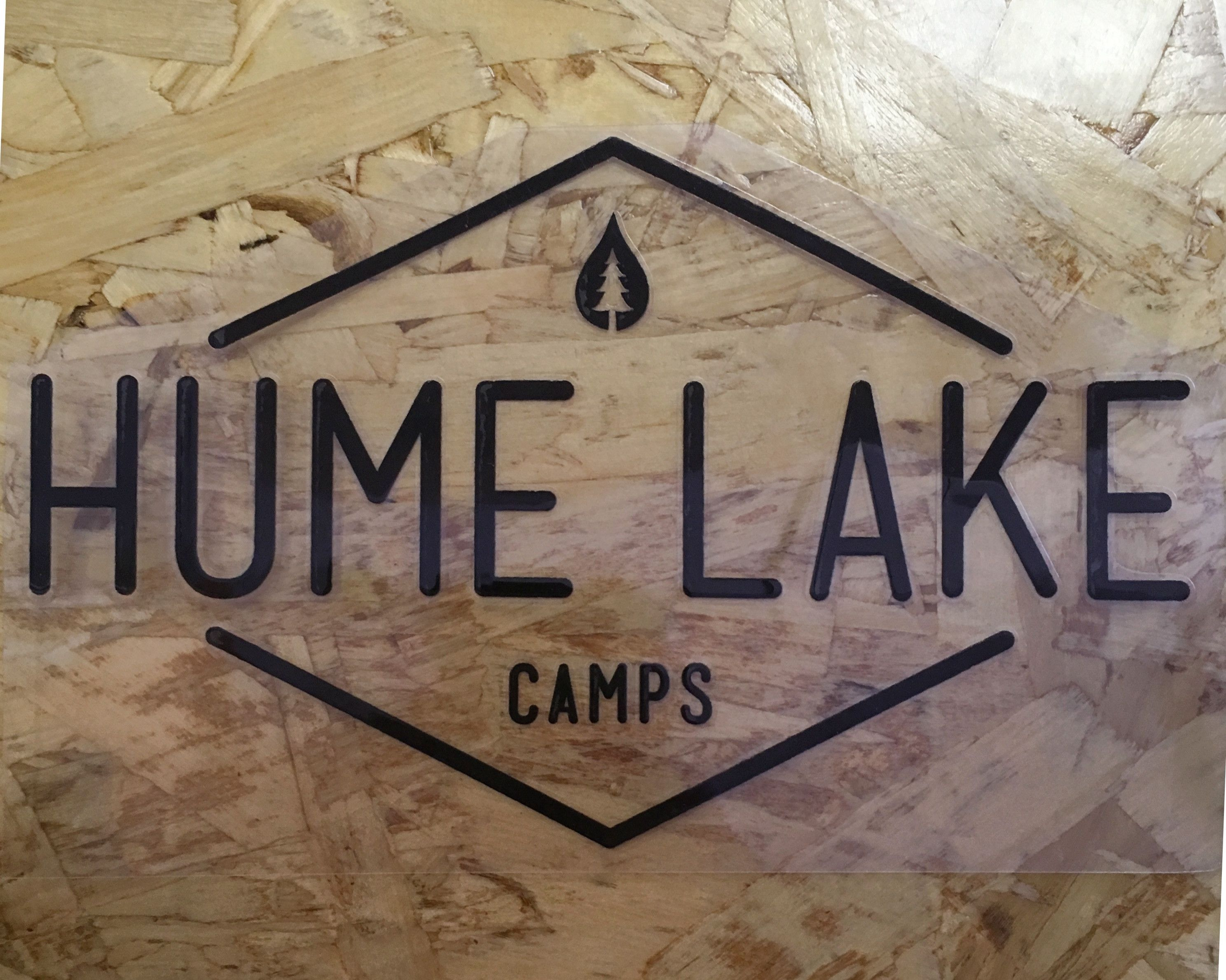 Hume Camps Sticker Various Colors Hume Hume Lake Novelty Sign [ 2381 x 2976 Pixel ]