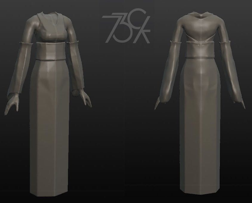 Trying something new female template hope u guy like it... #3dprinting #3dprinter #3dprint #3dprinted #threedimenzion #tdz #3dminime #gift #awesome #b3d #modo #sculptris #3dmodel #3d #sg #costume #digital #digitalsculpting #73ck #numbstudio by 73ck
