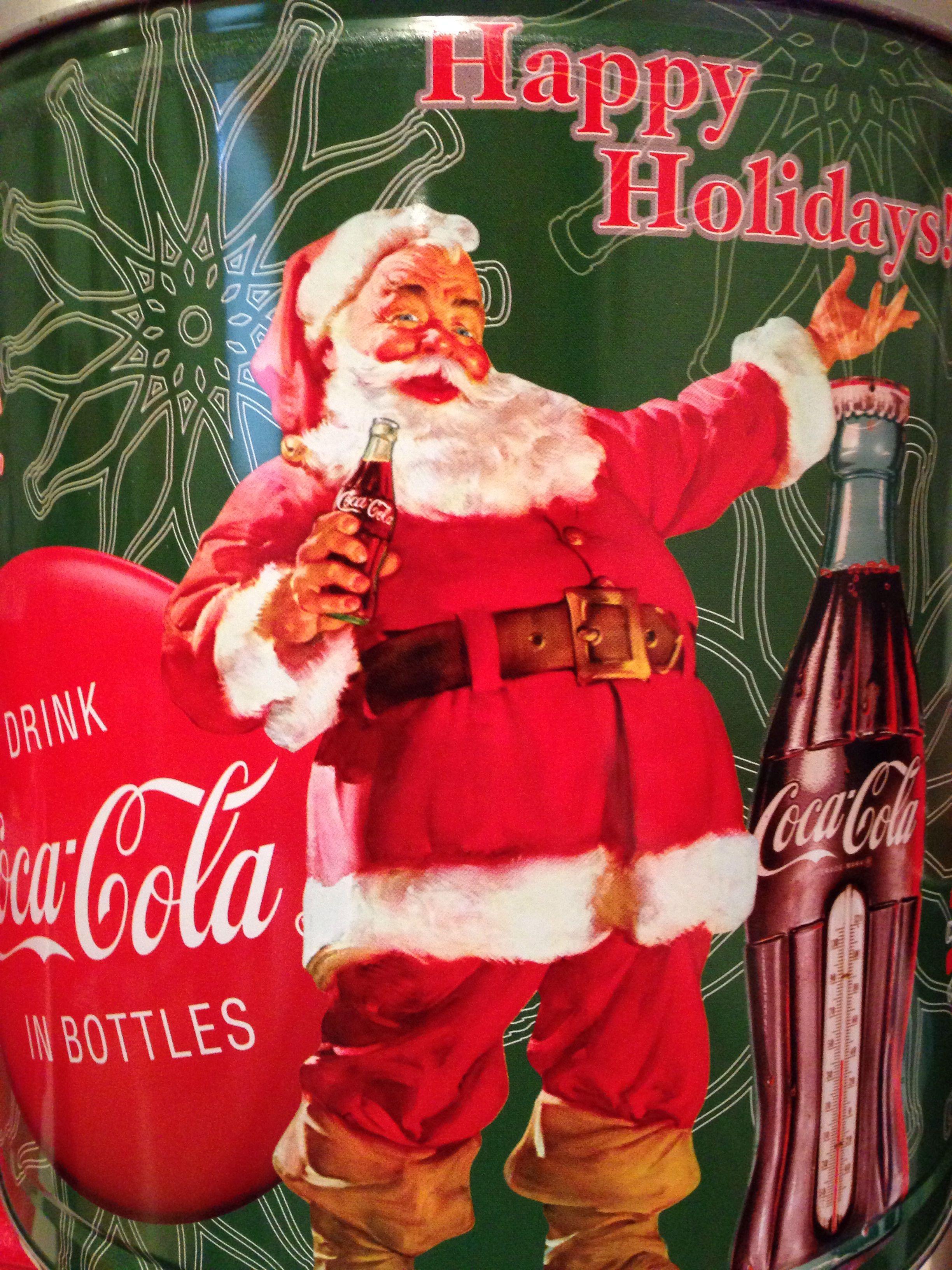 Pin On Coca Cola Santa