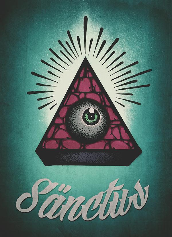 Sänctus by Eduardo Gorghetto, via Behance