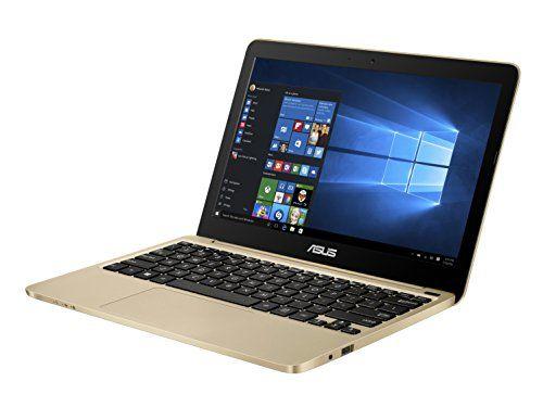 Asus E200ha Fd0043t 11 6 Inch Laptop Atom Z8350 2gb 32gb Windows 10 Integrated Graphics Gold Asus Best Laptops Best Bluetooth Headphones