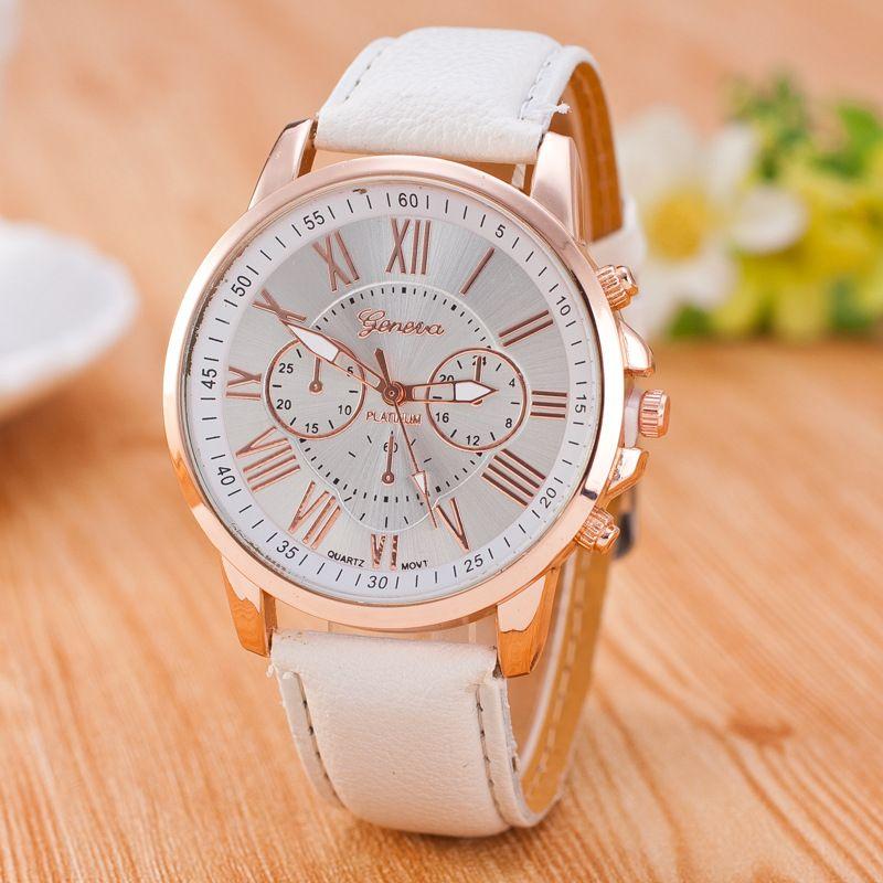 Roman Number Three Eyes Watch Watches Women Fashion Wristwatch Fashion Fashion Watches