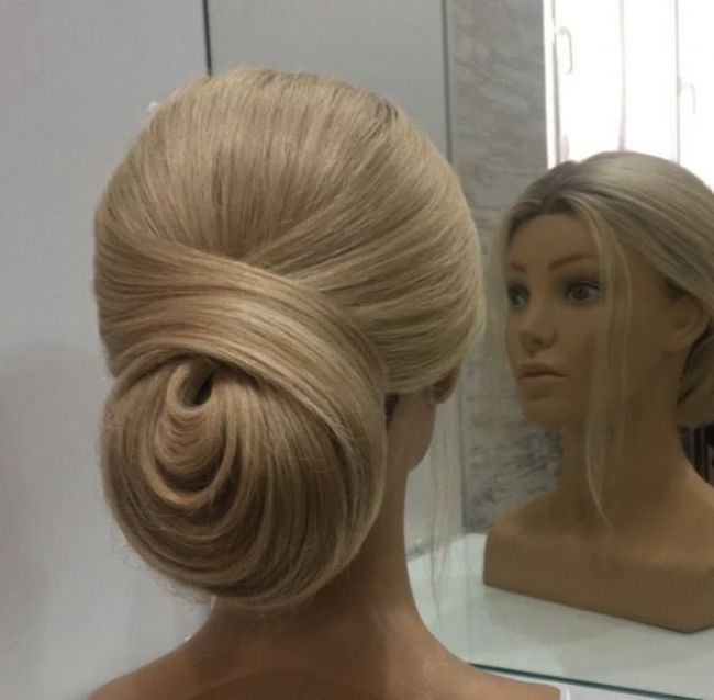 Classic Chignon Wedding Hairstyles: Different Take On A Classic Chignon #avedaibw