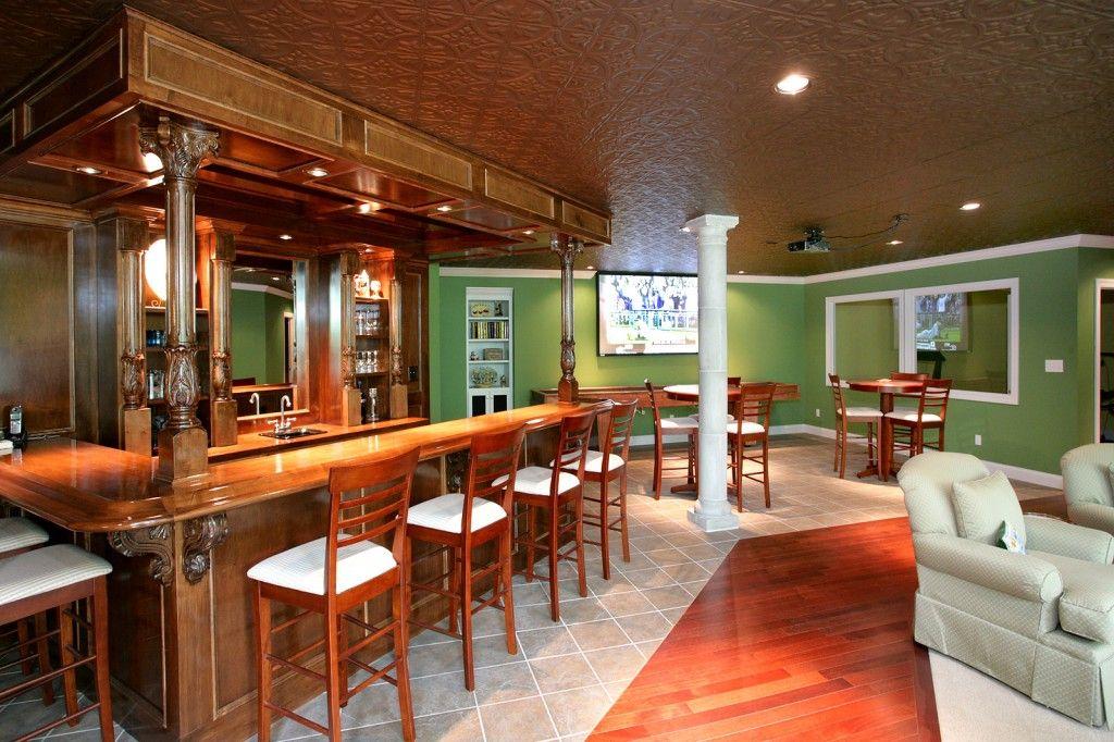 Basement Pub Google Search Home Remodeling Contractors Finishing Basement Home