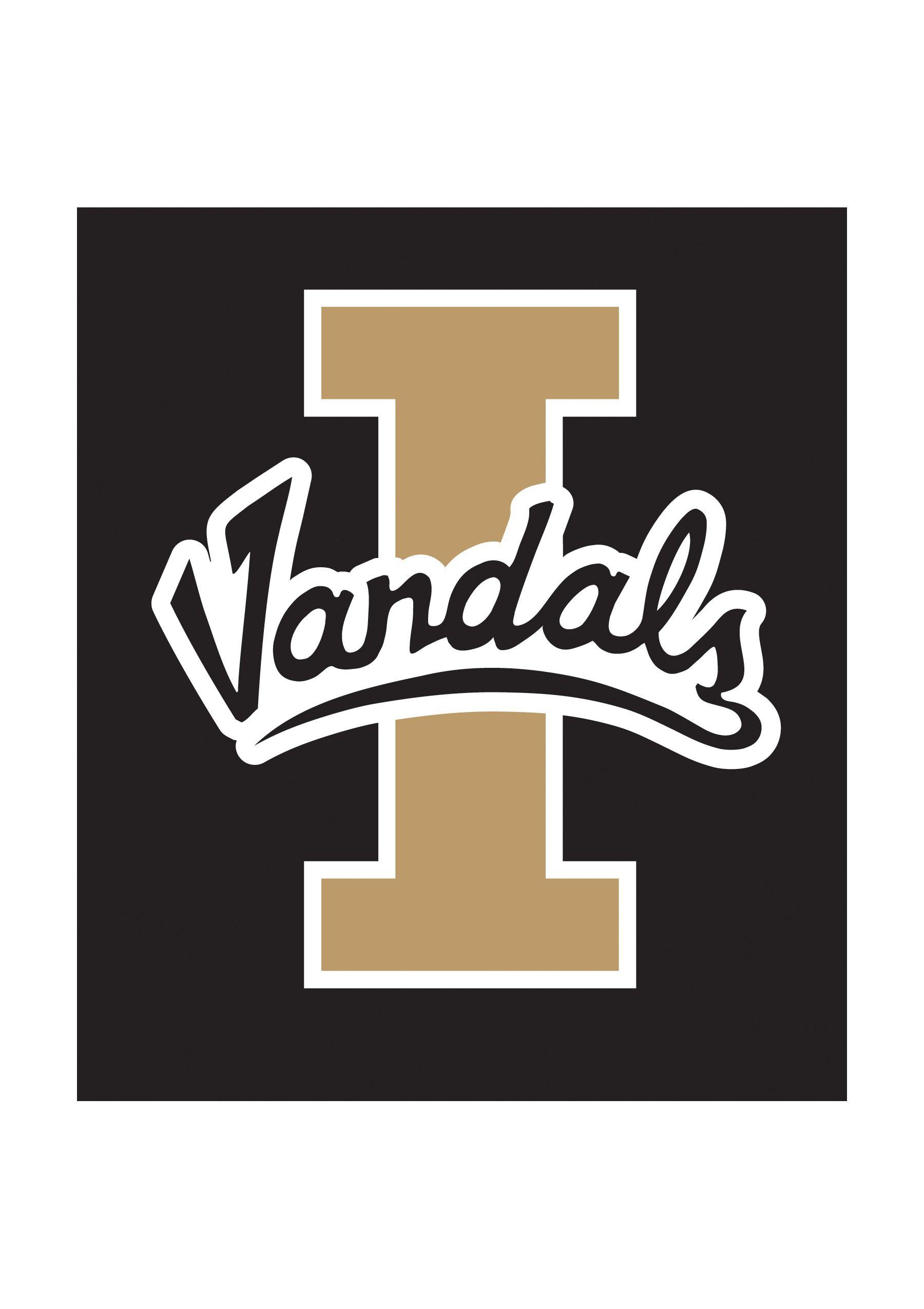 Vandal Logo Idaho Vandals Pinterest