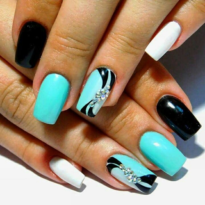 nail art 2017 d co ongles pinterest ongles manucure. Black Bedroom Furniture Sets. Home Design Ideas