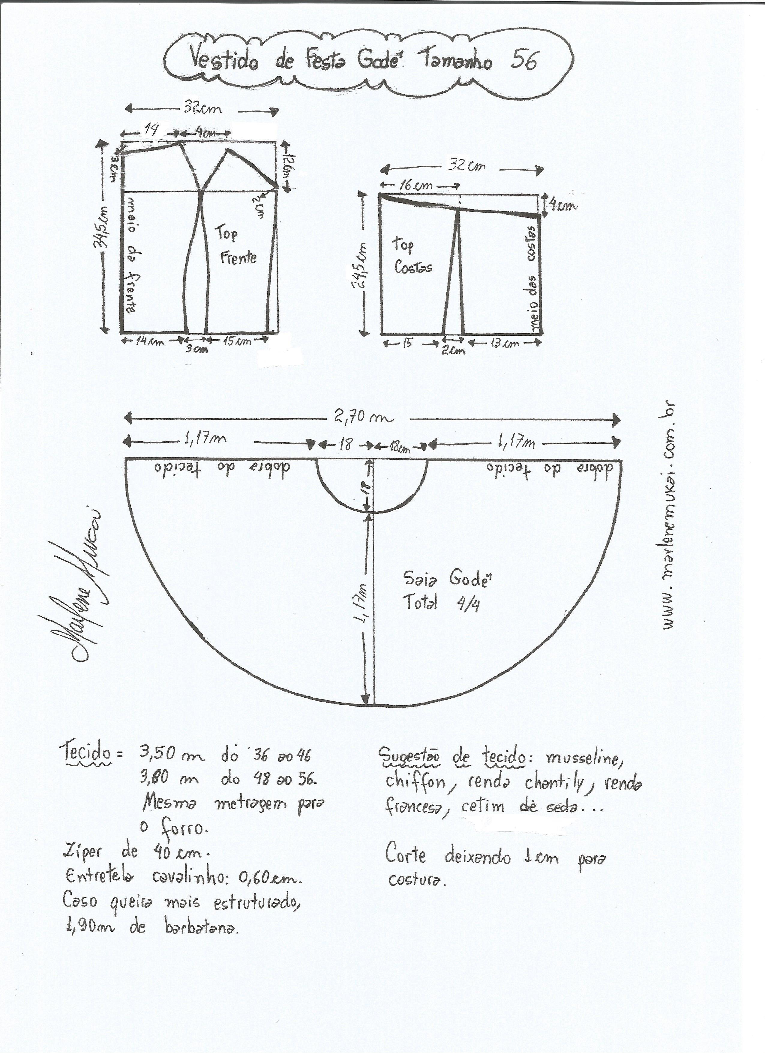 Pin de Silvana Battiato en Costura | Pinterest | Vestidos, Moldes y ...