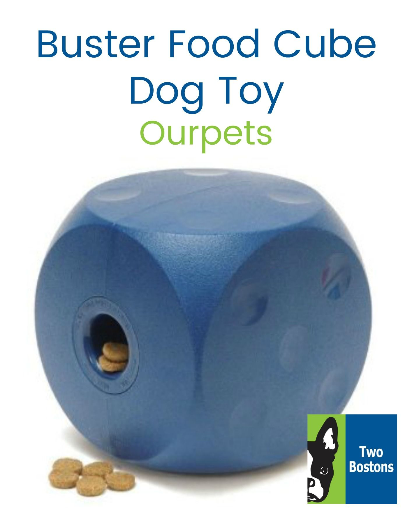 Buster Food Cube By Ourpets Dog Toys Cube Toys