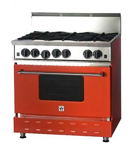 Bluestar Rnb Series 36Inch Prostyle Gas Range  Kitchen Ideas Magnificent Range Kitchen Design Decoration