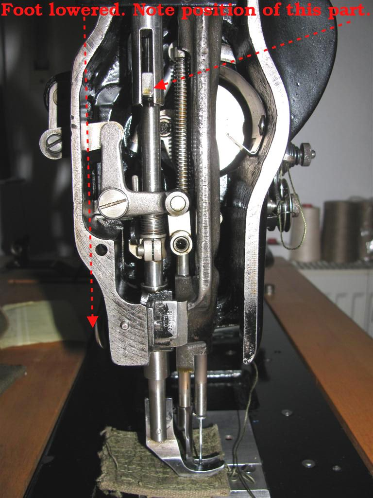Fixing Up A Singer 111W155 - Leather Sewing Machines ...