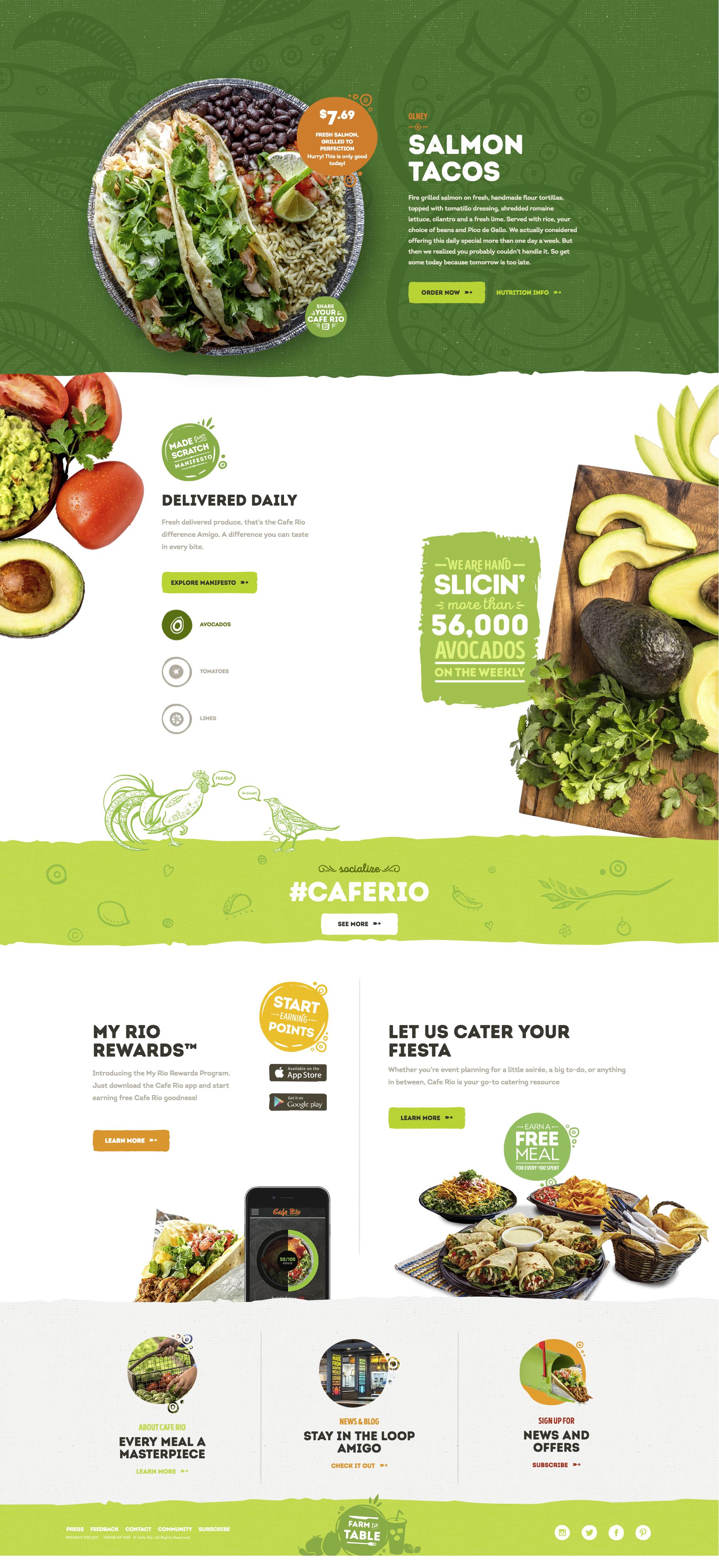 Coffeewebsite Food Web Design Food Website Design Web Design
