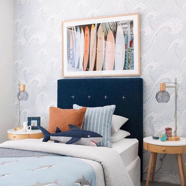 Japanese Wave Wallpaper Peel Stick In 2021 Kid Room Decor Waves Wallpaper Classic Wallpaper