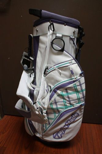 Taylormade Women Pure Lite 3 0 In Colors White Purple Green For Las Golf Bag Ebay