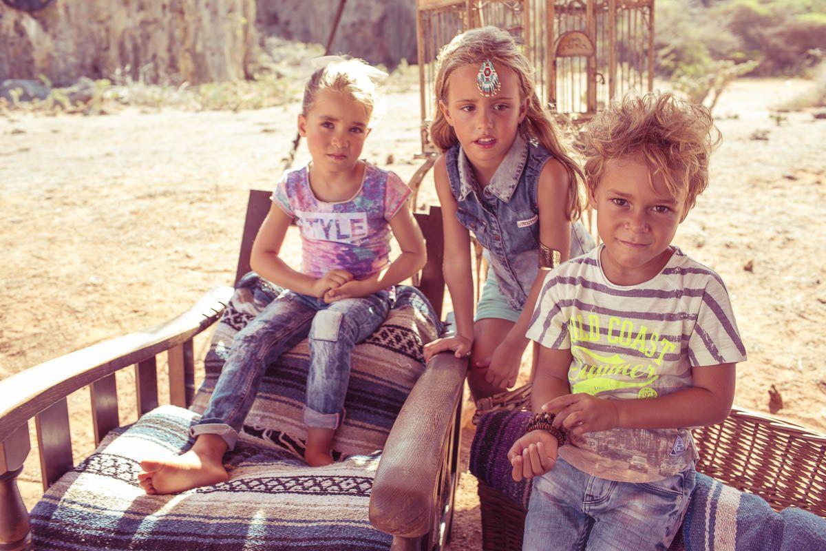 Girls // (L) Denim: Alody I Top: Hannelore I (R