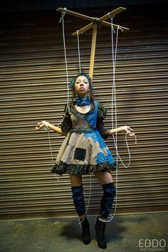 Costume on Pinterest   Marionette Costume, Jigsaw Costume ...