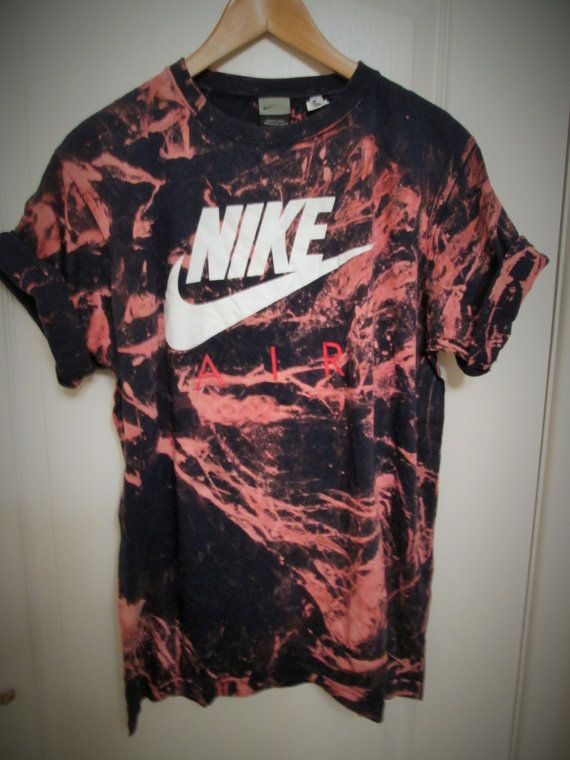 a77af234769 Vintage acid wash tie dye Nike retro rave festival unique urban ...
