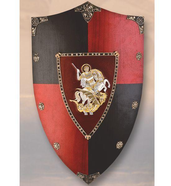 Medieval Shields   Medieval shield Black Prince.