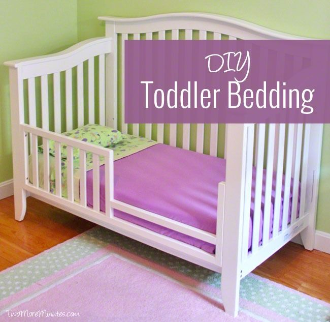 5 Cool Cribs That Convert To Full Beds: Diy Toddler Bed, Diy Toddler Blankets