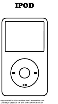 Ipod Coloring Page Apple Coloring Pages Coloring Pages Ipod