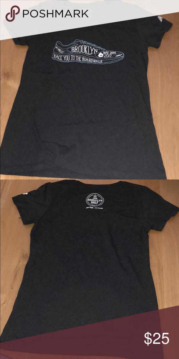 161731acfaaff Brooklyn Half Marathon t-shirt Worn once. Fits a bit snug In my oppinion New  Balance Tops Tees - Short Sleeve