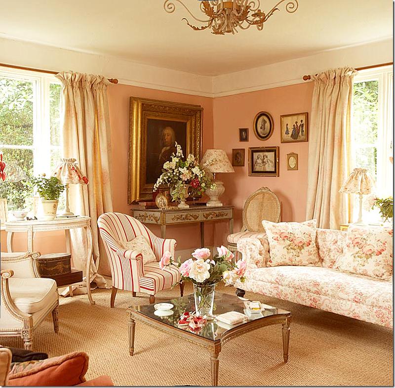 Kate Formans living room via Cote de Texas La Maison de Mes Rves