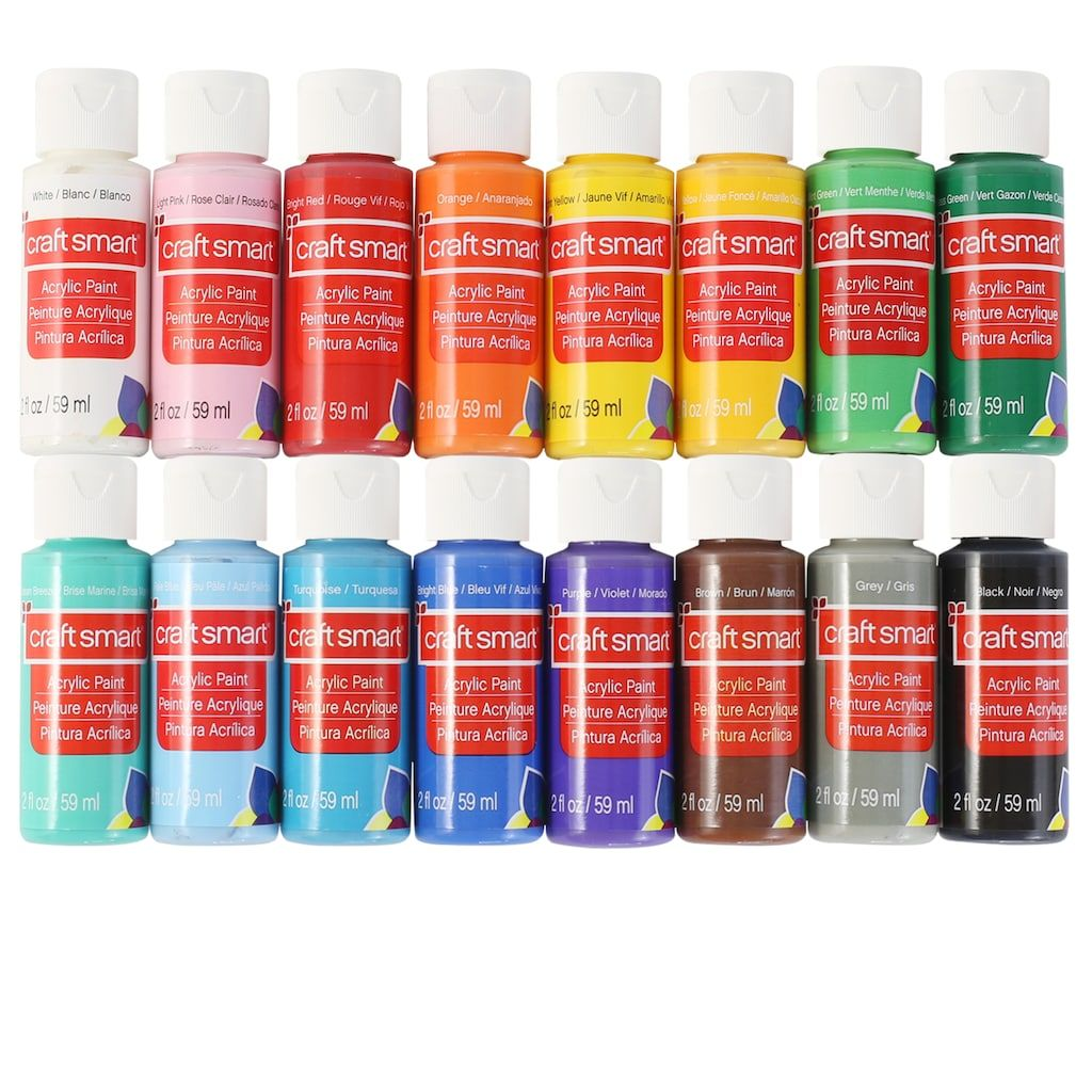 Acrylic paint value ct by craft smart michaels