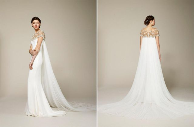 Wedding Gown With Cape: Wedding Dress With Cape. I Love It, Looks So Much Like
