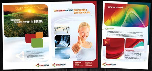 Beautiful Corporate Brochure Design Ideas / Examples | Graphic ...