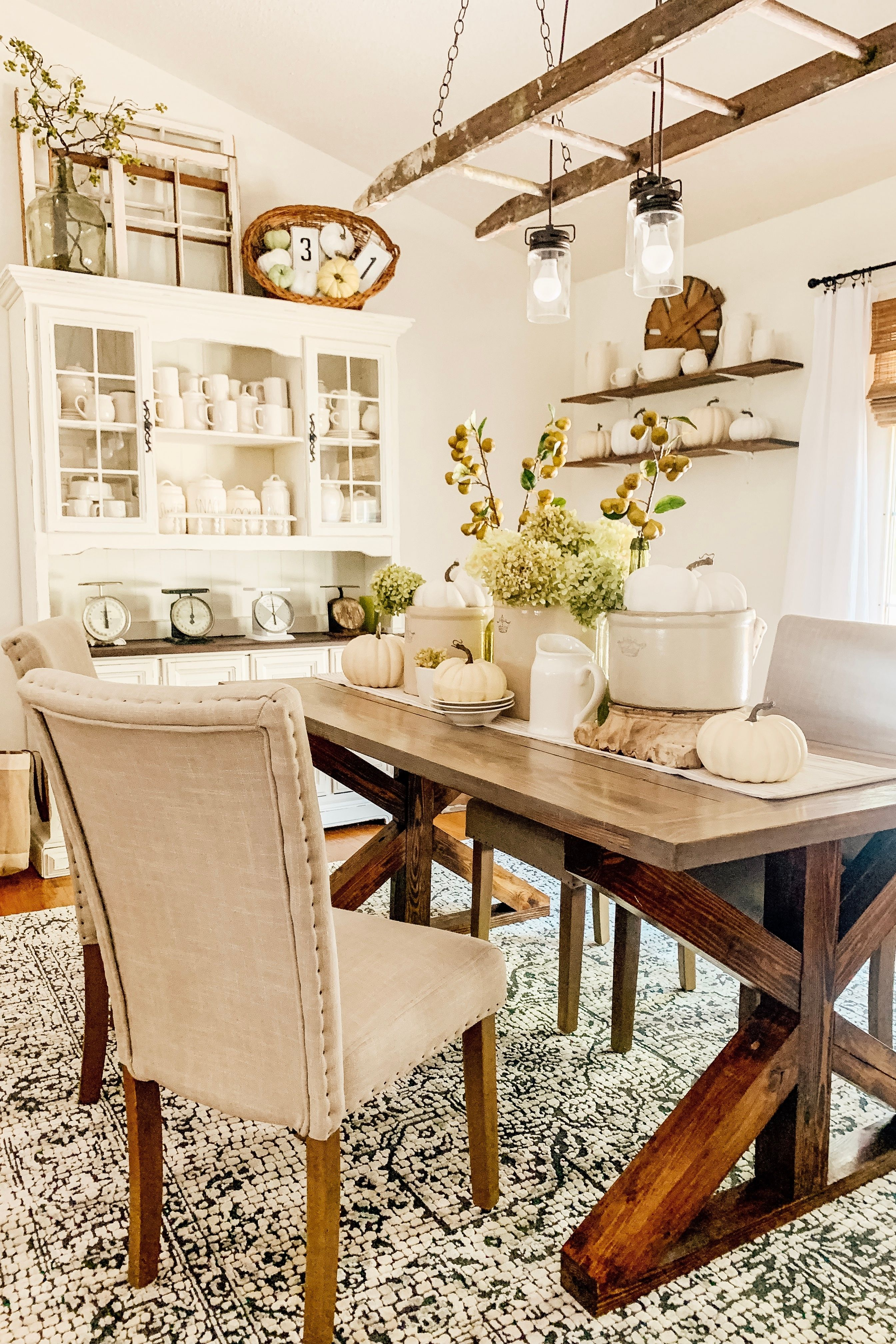 Affordable Fall Home Decor Ideas Fall Dining Table Decor Dinning Room Design Kitchen Decor