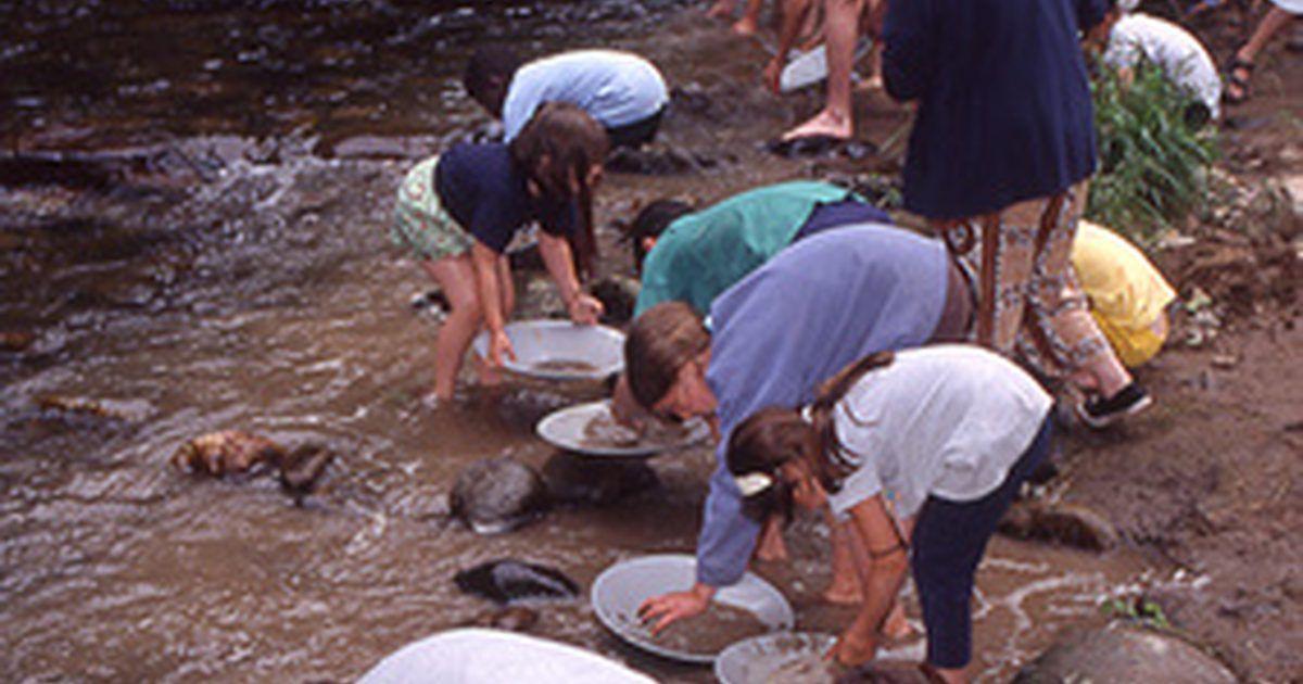 Métodos de minería para el oro aluvial y el cuarzo | Tips | Pinterest