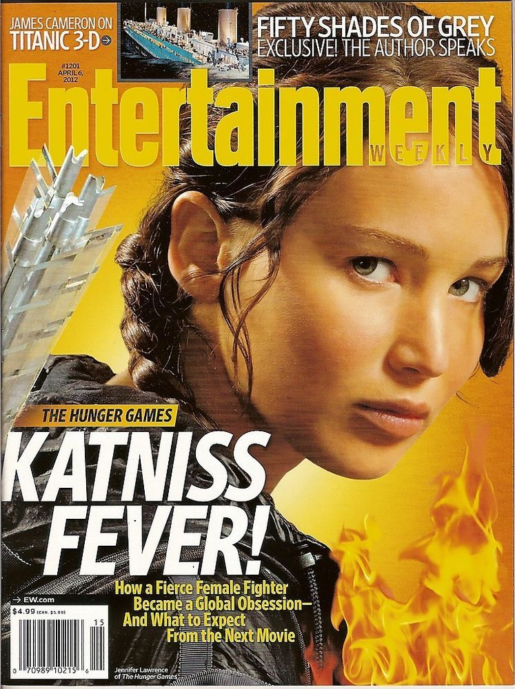 entertainment weekly hunger games jennifer lawrence katniss april 6 2012 new