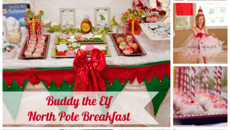 Buddy the Elf Movie Inspired North Pole Breakfast - Made by a Princess #northpolebreakfast Buddy the Elf Movie North Pole Breakfast #northpolebreakfast