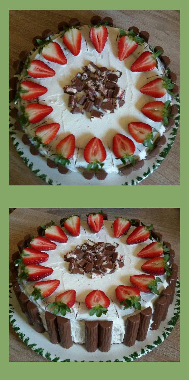 Erdbeertorte mit Joghurt