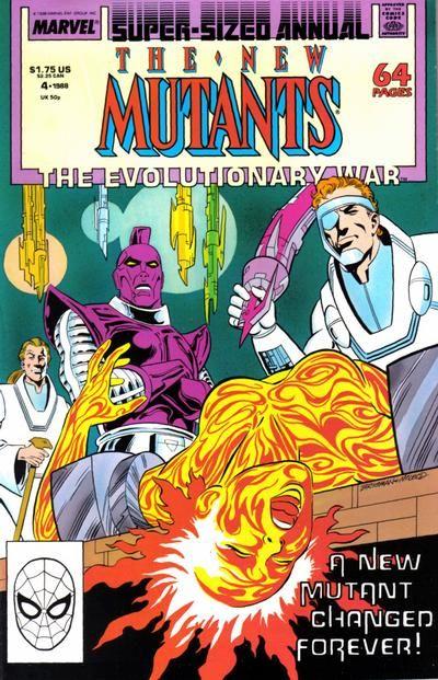 New Mutants Annual # 4 by June Brigman & Bob McLeod