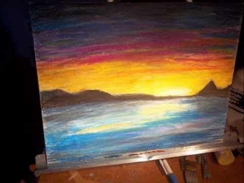 Breathtaking Sunrise Paintings Sunset Or Sunrise By Bredereck
