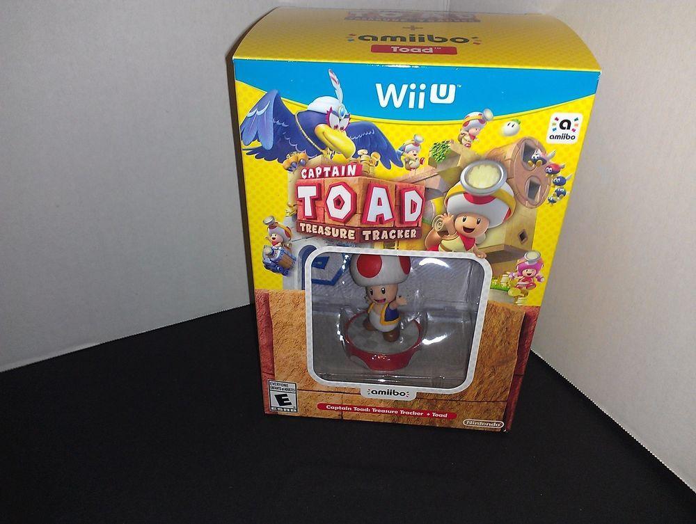 Captain Toad Treasure Tracker + Toad Amiibo Bundle Nintendo