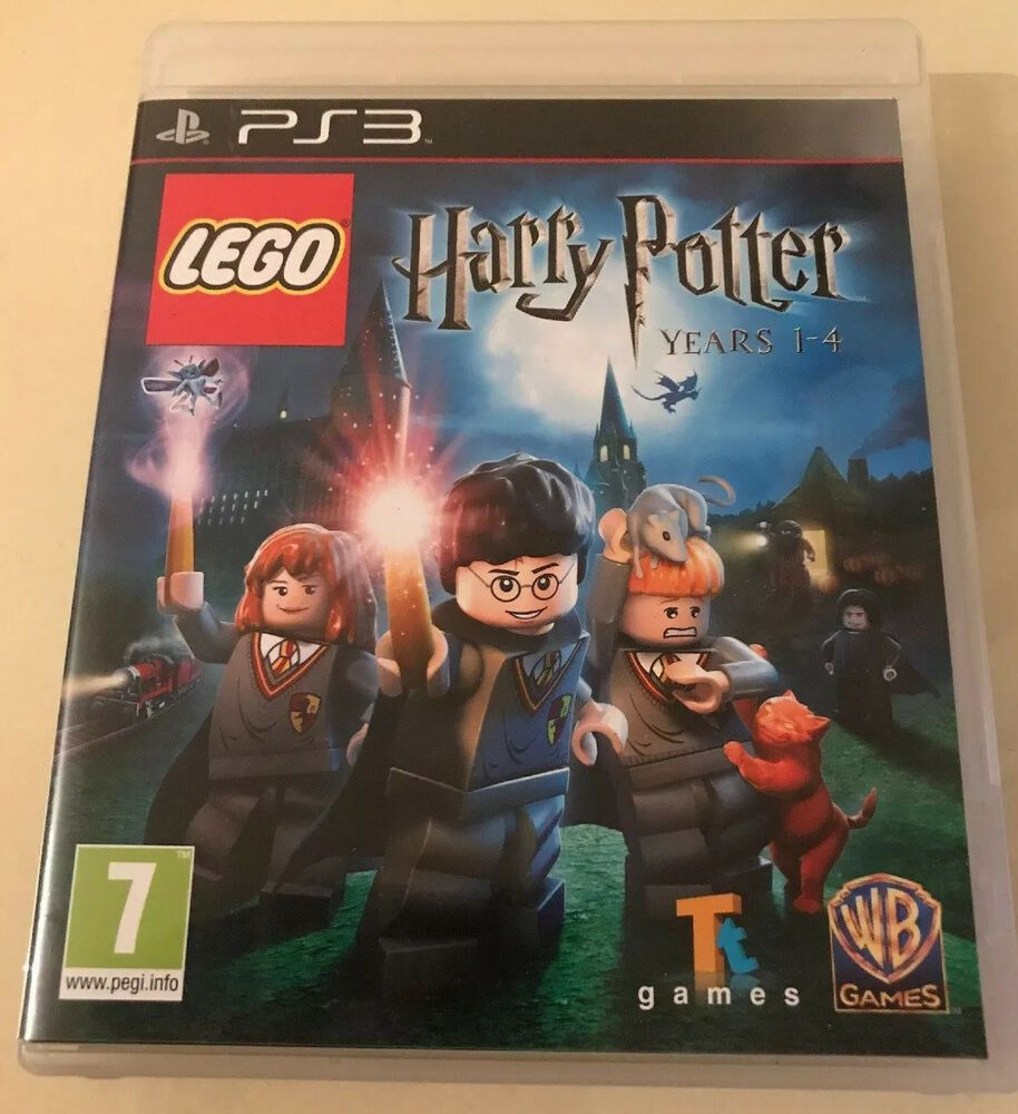 Lego Harry Potter Years 1 4 Game Ps3 With Instructions Lowest Prices In 2020 Harry Potter Years Lego Harry Potter Harry Potter Video Games