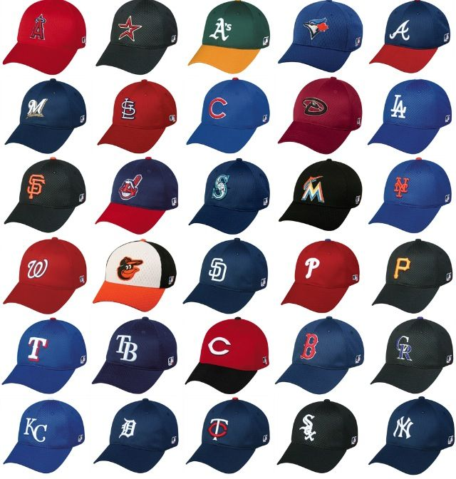 0d672c3da5f All the 2012 MLB hats - There is a winner in there at each and every game!