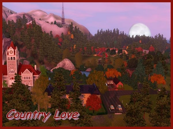 Country Love neighbourhood by Maxi Sims | Sims 3 Worlds
