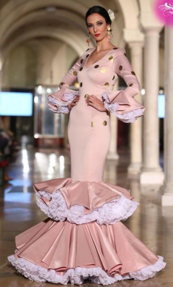 Pin de Maria Del Rio Olivares en Flamenca en 2019   Vestidos