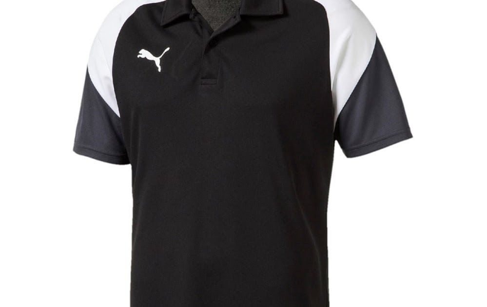 445c595d96cb3 Pour Esito Polo Sport Fitness Maillot Homme Puma Noir 4 g1RxPxq