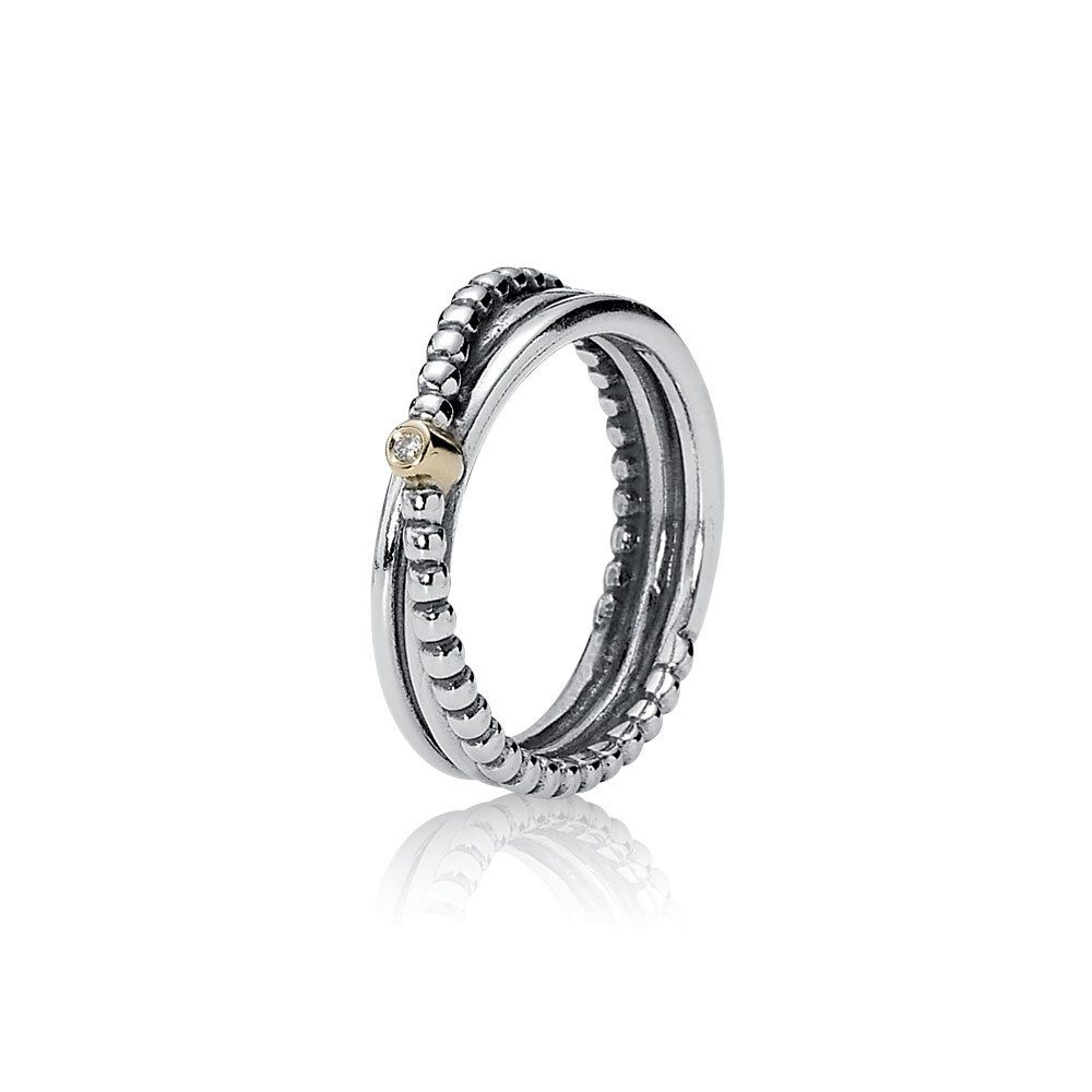 Rings Silver Gold And Rose Gold Plated Pandora Us Pandora Rings Silver Pandora Rings Jewelry Rings Engagement