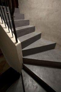 15 Beton Cire Online Escalier Bd Escadas