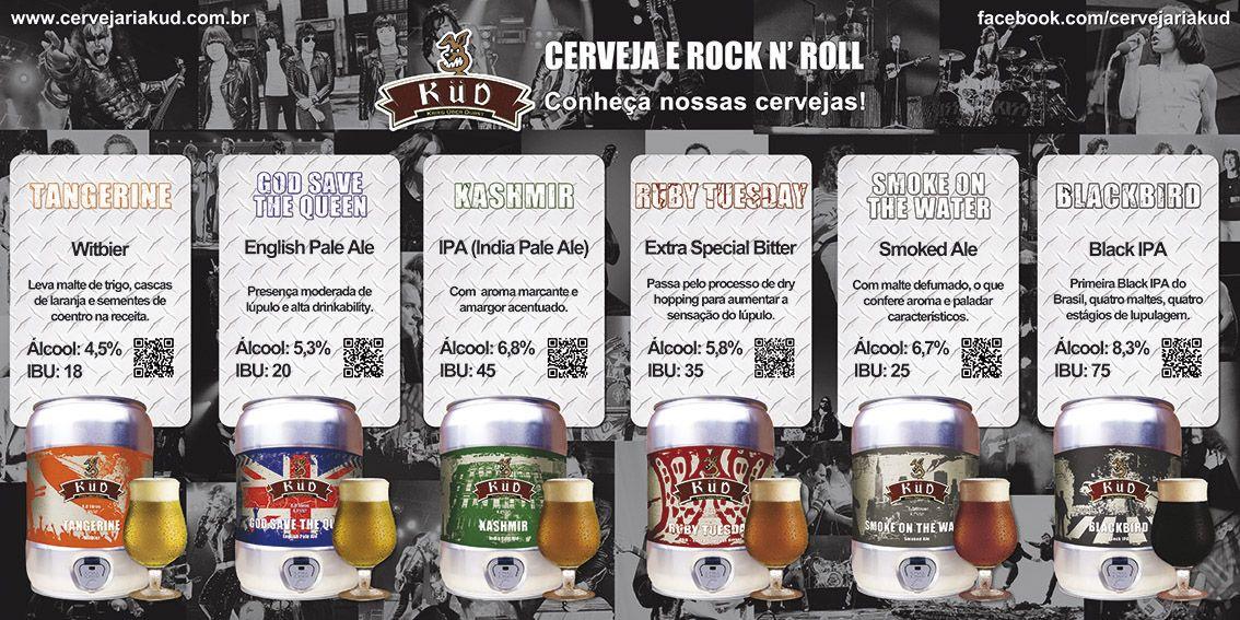 Cardápio de balcão - Cervejaria Küd