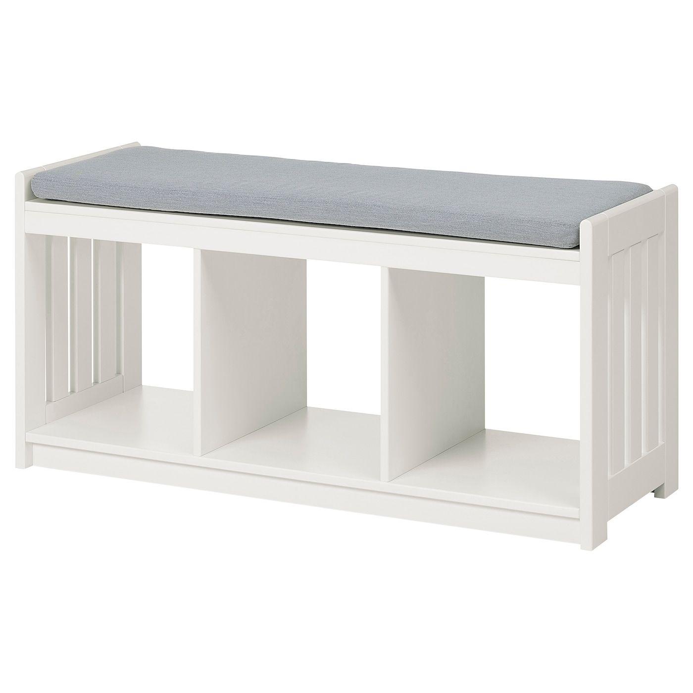 Panget Storage Bench White Ikea In 2020 Storage Bench Ikea Bench Bench With Shoe Storage