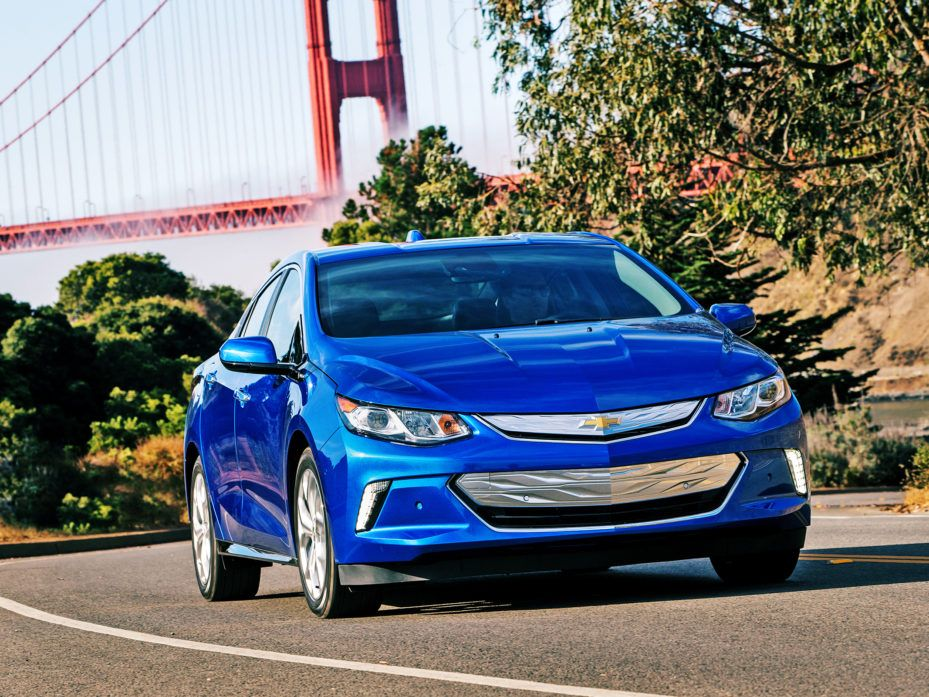 Obama Caps Off His Ev Legacy With 25 000 Miles Of Electric Highways Chevrolet Volt Chevy Volt Hybrid Car