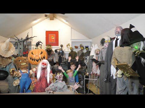 Huge 32 Animatronic Collection Spirit Halloween and